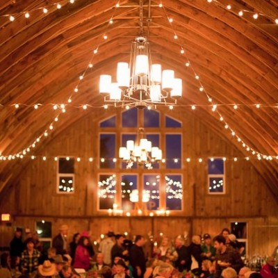 Rehearsal  Dinner at the Barn. Photo by Olive Juice Studios